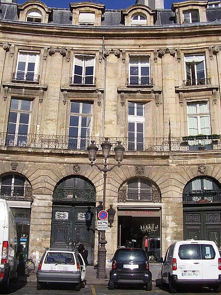 Photo du Monument Historique Ancien hôtel Gigault de La Salle, ou hôtel André-d'Arbelles, ou hôtel Biliotti situé à Paris 2e Arrondissement