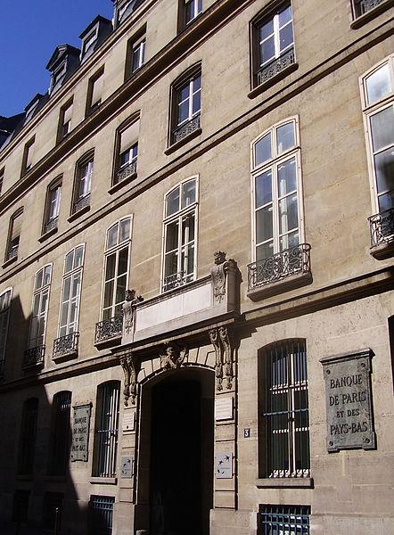 Photo du Monument Historique Ancien hôtel de Mondragon situé à Paris 2e Arrondissement