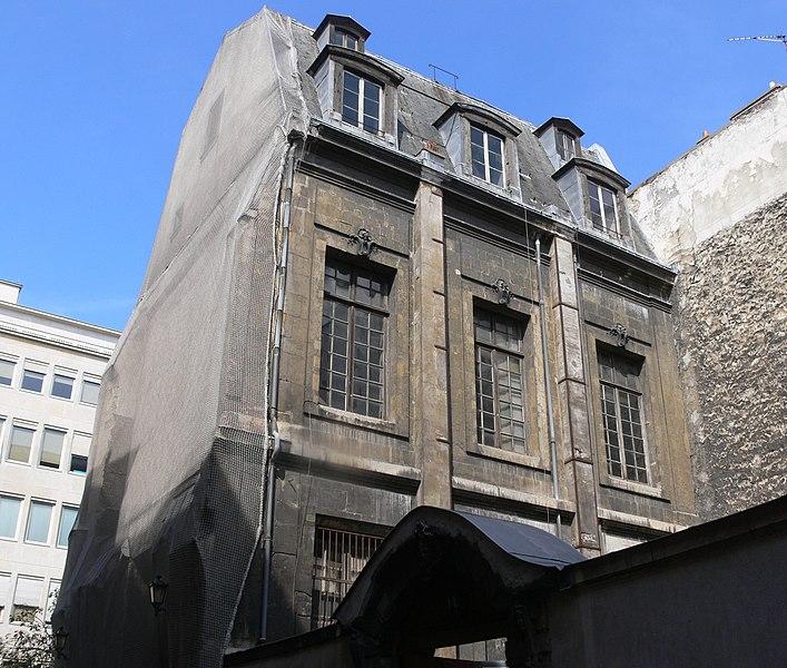 Photo du Monument Historique Ancien hôtel de Nevers situé à Paris 2e Arrondissement