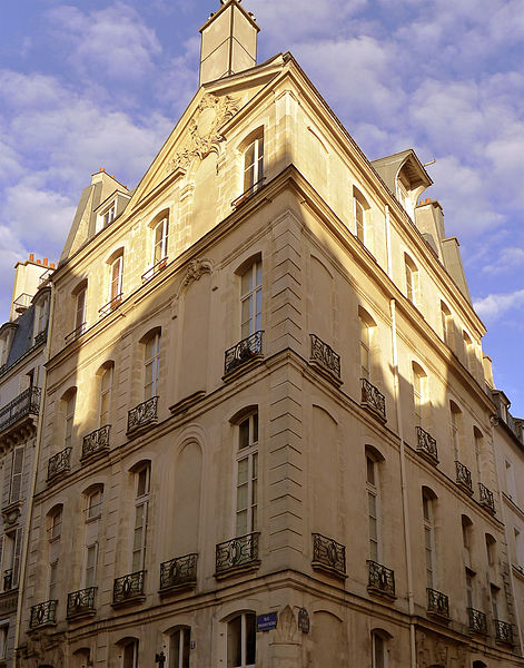 Photo du Monument Historique Ancien hôtel de Noisy situé à Paris 2e Arrondissement