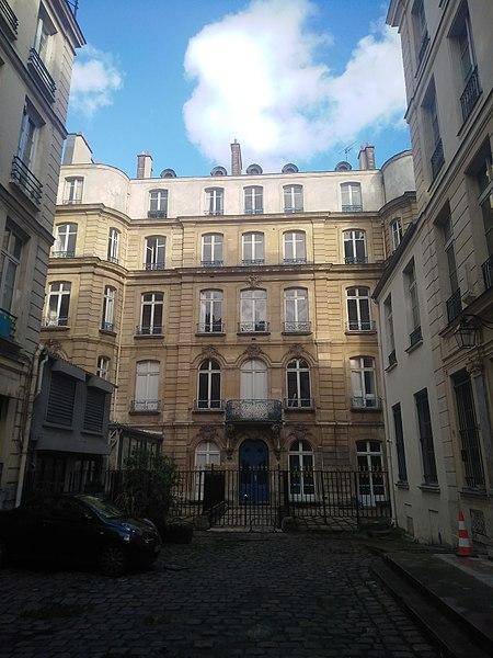 Photo du Monument Historique Ancien hôtel de Saint-Chaumont situé à Paris 2e Arrondissement