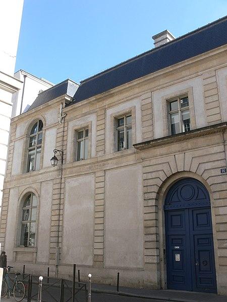 Photo du Monument Historique Ancien hôtel Tubeuf, ou hôtel Colbert de Torcy situé à Paris 2e Arrondissement