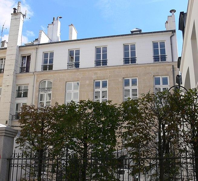 Photo du Monument Historique Ancien hôtel particulier situé à Paris 2e Arrondissement