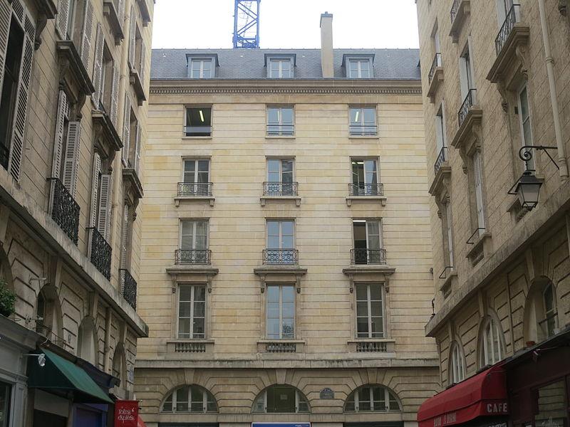 Photo du Monument Historique Immeubles, actuellement immeuble administratif du Crédit Lyonnais situé à Paris 2e Arrondissement