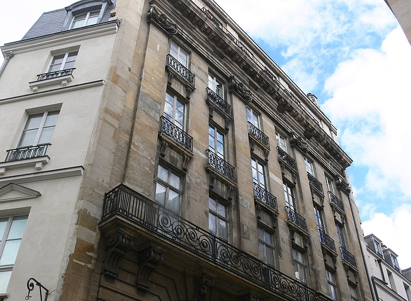 Photo du Monument Historique Immeuble situé à Paris 2e Arrondissement