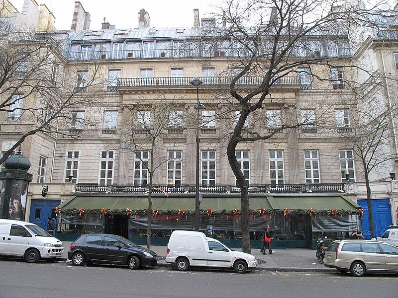 Photo du Monument Historique Immeuble dit Hôtel Montholon situé à Paris 2e Arrondissement