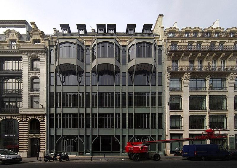 Photo du Monument Historique Immeuble, ancien siège du quotidien Le Parisien Libéré situé à Paris 2e Arrondissement