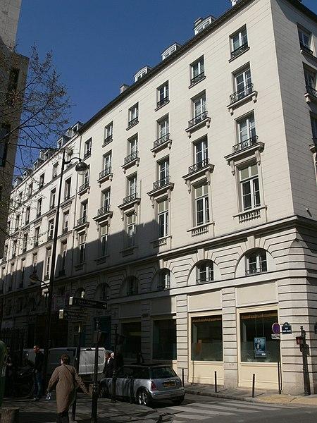 Photo du Monument Historique Immeubles situé à Paris 2e Arrondissement