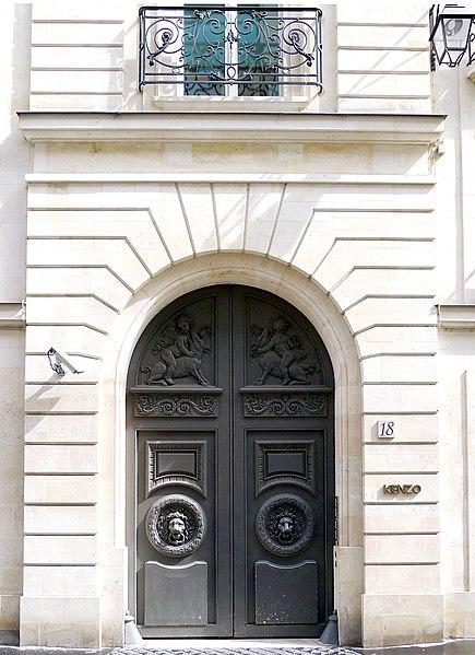 Photo du Monument Historique Immeuble, ancien hôtel particulier Desmarets situé à Paris 2e Arrondissement