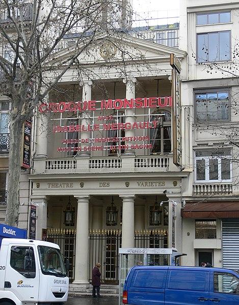 Photo du Monument Historique Théâtre des Variétés situé à Paris 2e Arrondissement