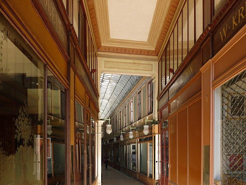 Photo du Monument Historique Passage du Bourg-l'Abbé situé à Paris 2e Arrondissement