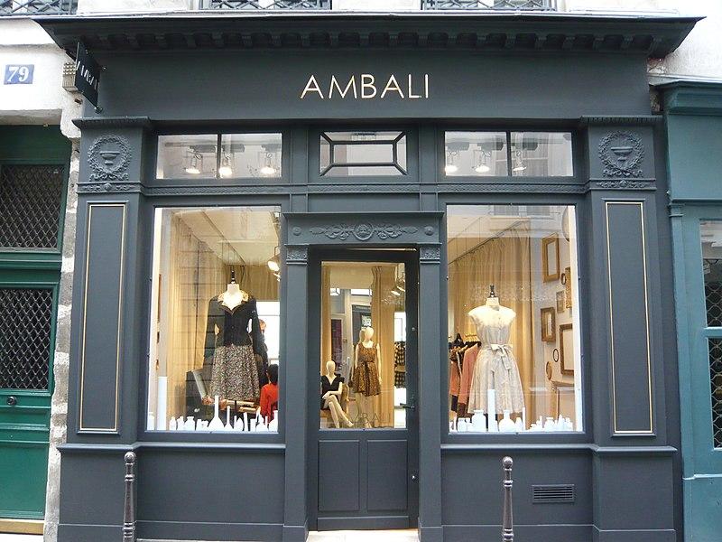 Photo du Monument Historique Boutique situé à Paris 3e Arrondissement
