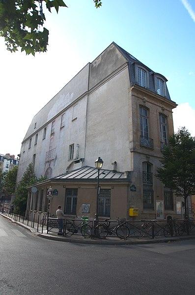 Photo du Monument Historique Ecole communale situé à Paris 3e Arrondissement