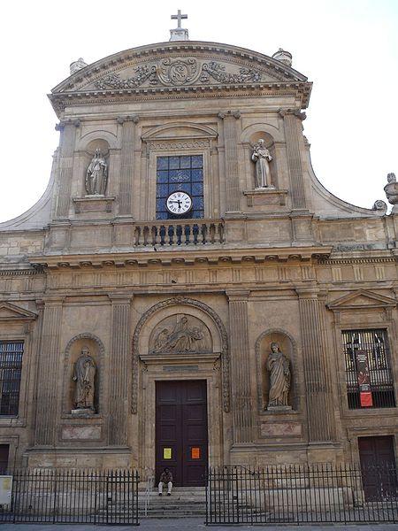 Photo du Monument Historique Eglise Sainte-Elisabeth situé à Paris 3e Arrondissement