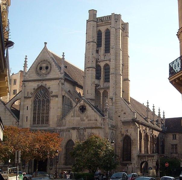 Photo du Monument Historique Eglise Saint-Nicolas-des-Champs situé à Paris 3e Arrondissement