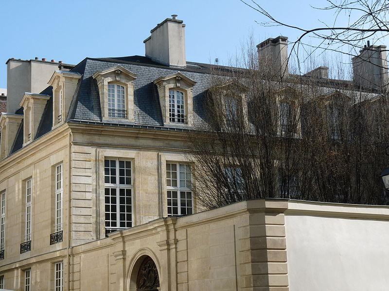Photo du Monument Historique Ancien hôtel Amelot de Chaillou, ou hôtel de Tallard situé à Paris 3e Arrondissement