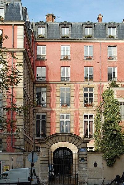Photo du Monument Historique Ancien hôtel Berruyer, dit aussi hôtel Camillac, de Jassaud, de Lamoignon ou de Coursin situé à Paris 3e Arrondissement