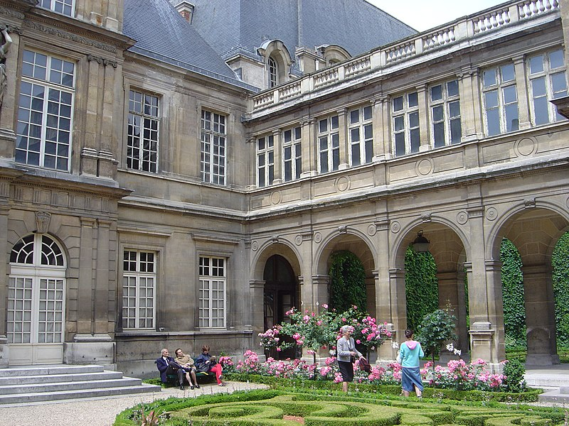 Photo du Monument Historique Hôtel Carnavalet situé à Paris 3e Arrondissement