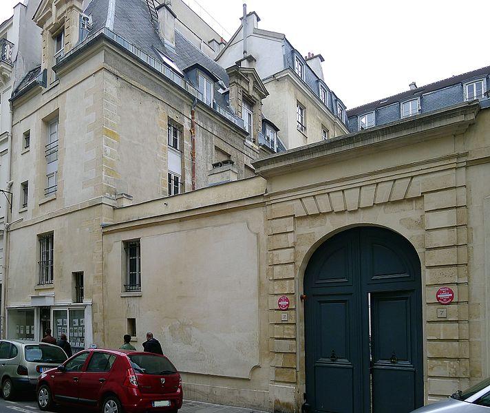 Photo du Monument Historique Hôtel Cornuel, dit aussi hôtel de Tourolle situé à Paris 3e Arrondissement