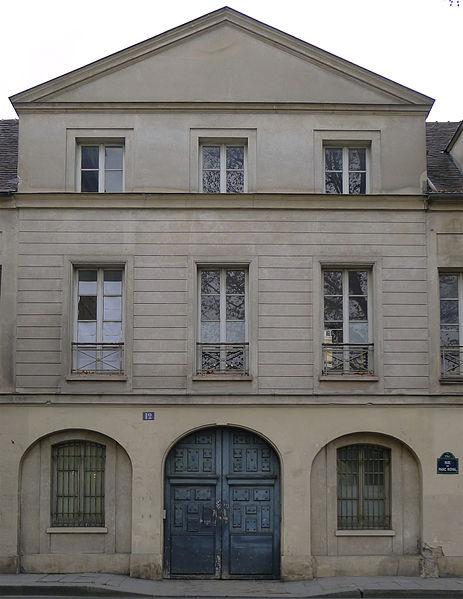 Photo du Monument Historique Ancien hôtel de Croisilles situé à Paris 3e Arrondissement