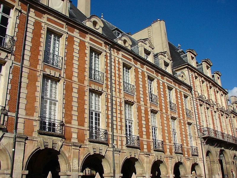 Photo du Monument Historique Ancien hôtel de l'Escalopier situé à Paris 3e Arrondissement