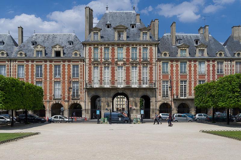 Photo du Monument Historique Ancien hôtel d'Espinoy et pavillon de la Reine situé à Paris 3e Arrondissement