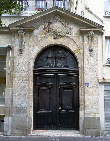 Photo du Monument Historique Hôtel Gégault de Crisenoy situé à Paris 3e Arrondissement