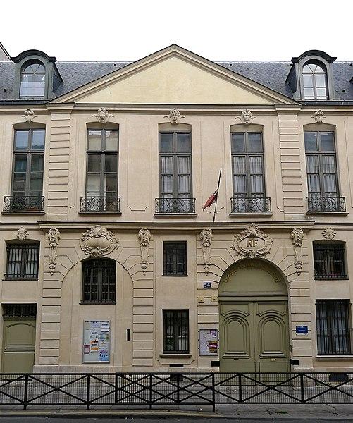 Photo du Monument Historique Hôtel de Gourgues situé à Paris 3e Arrondissement
