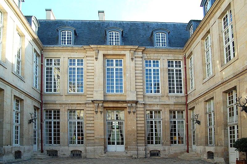 Photo du Monument Historique Hôtel Guénégaud dit aussi Hôtel Pénautier situé à Paris 3e Arrondissement