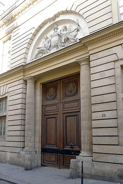 Photo du Monument Historique Hôtel d'Hallwyl situé à Paris 3e Arrondissement