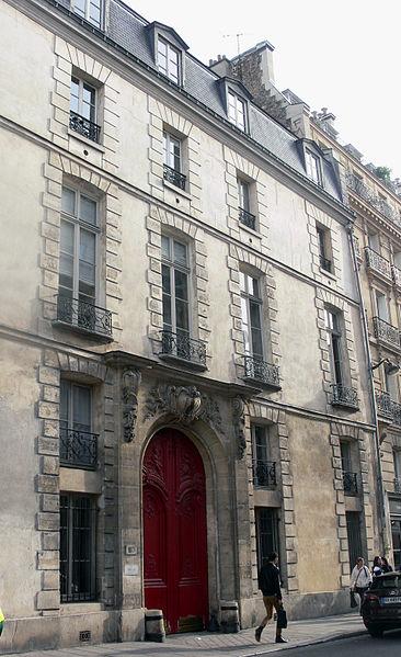 Photo du Monument Historique Hôtel d'Hozier  , dit aussi hôtel d'Epernon situé à Paris 3e Arrondissement