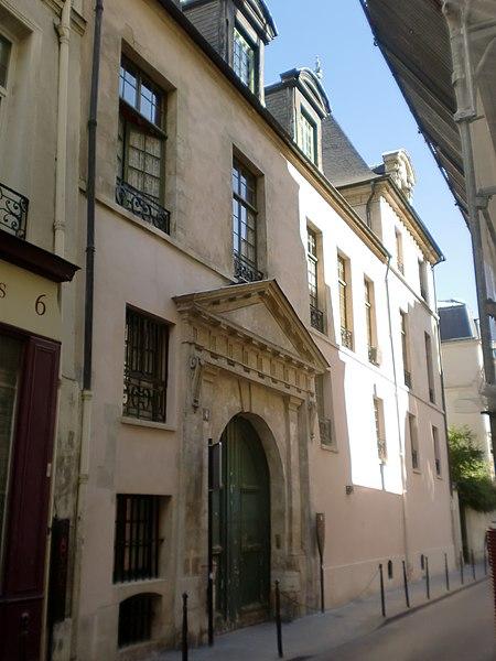 Photo du Monument Historique Ancien hôtel Jean Bart situé à Paris 3e Arrondissement