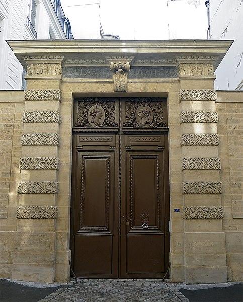 Photo du Monument Historique Hôtel Lemarié d'Aubigny situé à Paris 3e Arrondissement