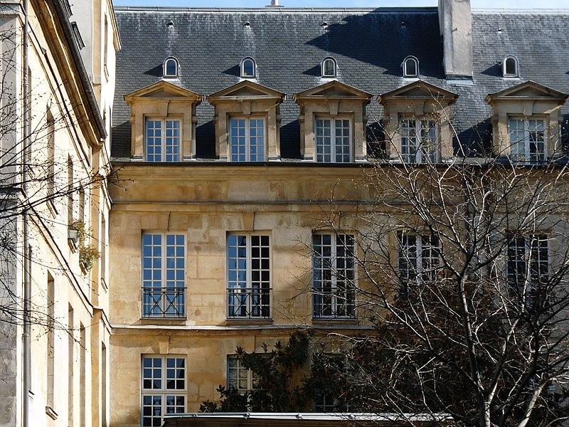 Photo du Monument Historique Hôtel Le Pelletier de Souzy situé à Paris 3e Arrondissement