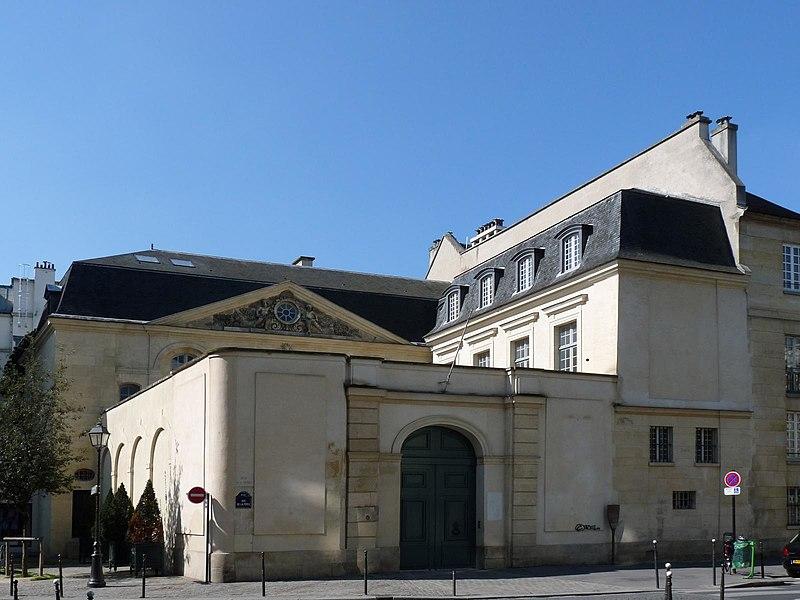 Photo du Monument Historique Hôtel Libéral Bruant, anciennement musée Bricart ou musée de la serrurerie, actuellement galerie d'art situé à Paris 3e Arrondissement