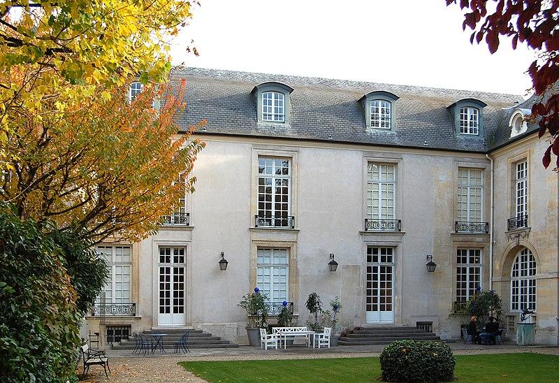 Photo du Monument Historique Ancien Hôtel de Marle dit aussi Hôtel de Noirmoutier situé à Paris 3e Arrondissement