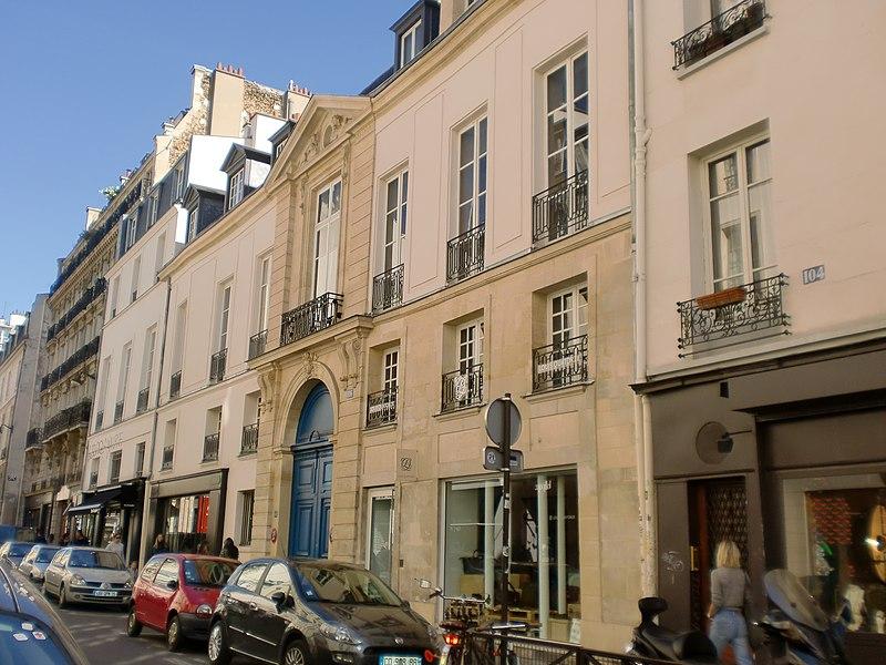 Photo du Monument Historique Ancien Hôtel Mégret de Sérilly situé à Paris 3e Arrondissement