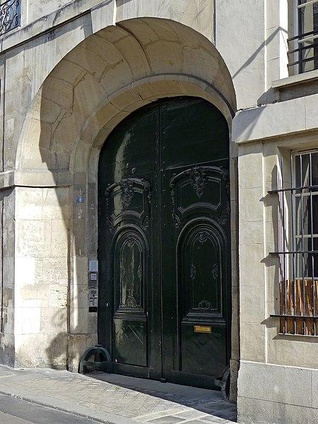 Photo du Monument Historique Ancien hôtel de Percy ou hôtel de Bercy ou hôtel de Pracontal situé à Paris 3e Arrondissement