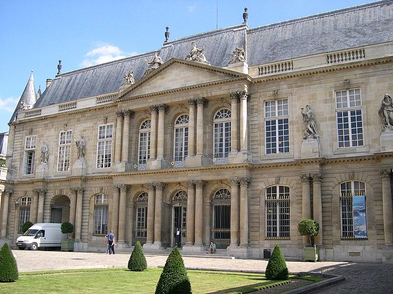 Photo du Monument Historique Anciens hôtels de Rohan et Soubise, actuellement Archives Nationales situé à Paris 3e Arrondissement