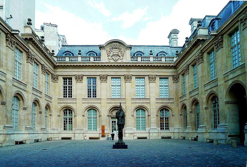 Photo du Monument Historique Ancien hôtel de Saint-Aignan (ou hôtel d'Avaux, de Rochechouart, d'Asnières), actuellement musée d'art et d'histoire du Judaïsme situé à Paris 3e Arrondissement