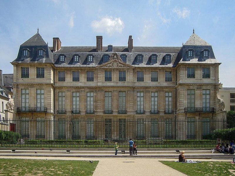 Photo du Monument Historique Ancien hôtel Aubert de Fontenay ou Salé, actuellement musée national Picasso situé à Paris 3e Arrondissement
