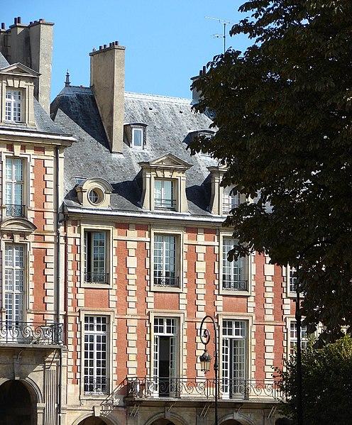 Photo du Monument Historique Hôtel de Tresmes  , dit aussi hôtel de Gourgues situé à Paris 3e Arrondissement