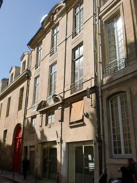 Photo du Monument Historique Hôtel de Vic  dit aussi Bouchotte situé à Paris 3e Arrondissement