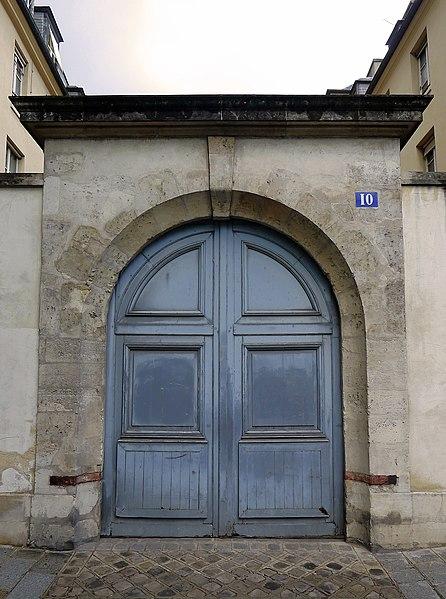 Photo du Monument Historique Hôtel de Vigny situé à Paris 3e Arrondissement