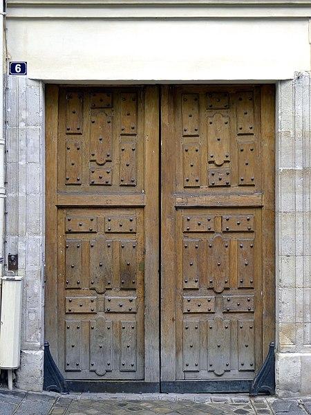 Photo du Monument Historique Hôtel de Vouvray situé à Paris 3e Arrondissement