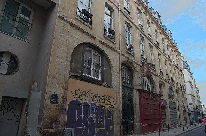 Photo du Monument Historique Ancien hôtel situé à Paris 3e Arrondissement
