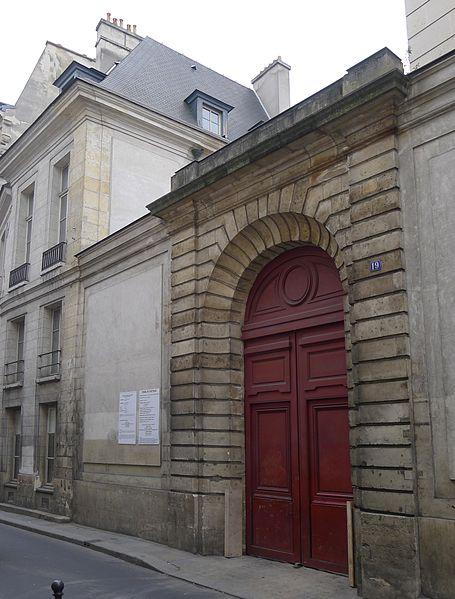 Photo du Monument Historique Immeuble dit Hôtel Beaubrun situé à Paris 3e Arrondissement