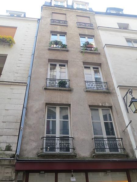 Photo du Monument Historique Immeuble situé à Paris 3e Arrondissement