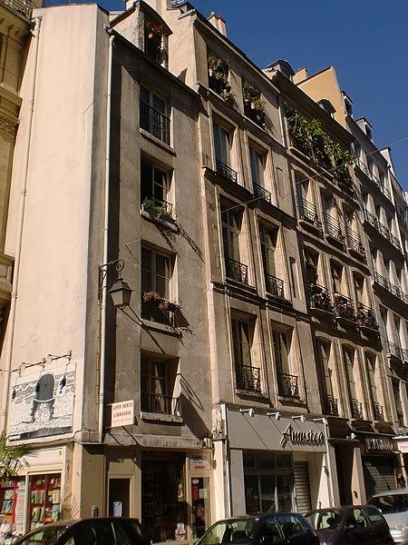 Photo du Monument Historique Immeubles situé à Paris 3e Arrondissement