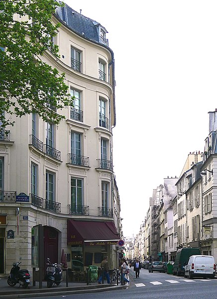 Photo du Monument Historique Maison situé à Paris 3e Arrondissement